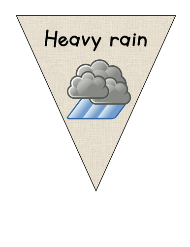 Weather bunting
