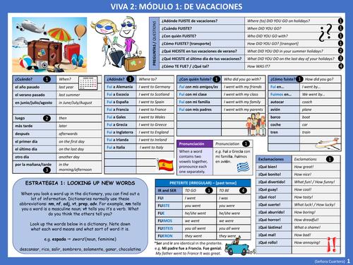 viva libro 2 vocabulary