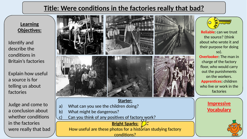 Industrial Revolution Factory Conditions