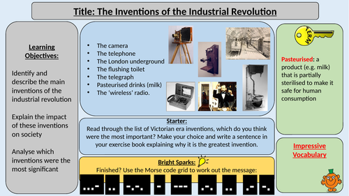 Inventions of the Industrial Revolution
