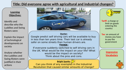 Luddites and Swing Rioters - Opposition to Industrial and Agricultural Changes