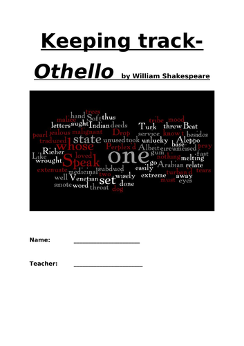 AQA A-level ''Othello'' Resources