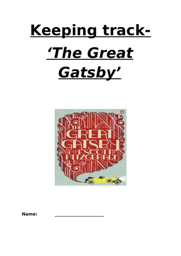AQA ''The Great Gatsby'' Resources