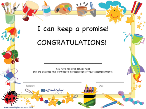 K is for Keeping a Promise