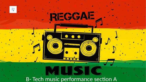 Reggae Music history