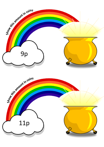 Money - Pots of Gold up to 20p