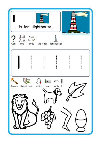 Under the Sea (also lighthouse / starfish) EYFS / KS1 / SEN, selection of topic based resources