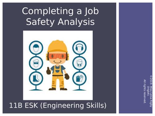 11 Engineering Skills (Metalwork) -  How to write a JSA (Job Safety Analysis)