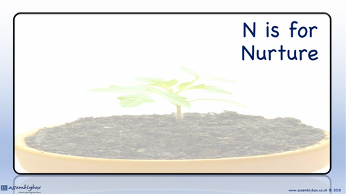 N is for Nurture