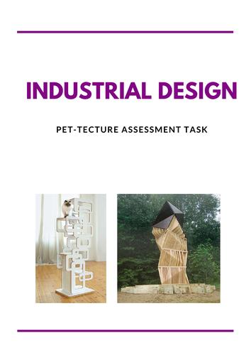 Pet-tecture Industrial Design assessment task