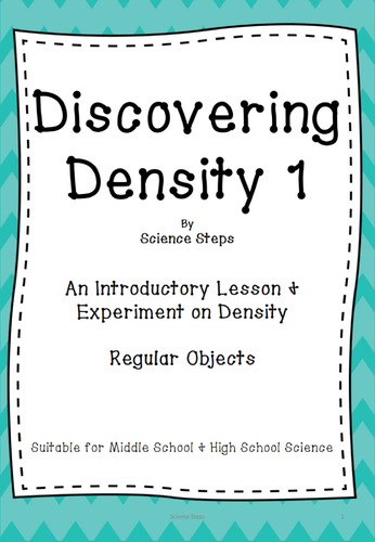 Discovering Density 1