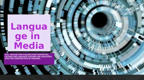 Language in Media
