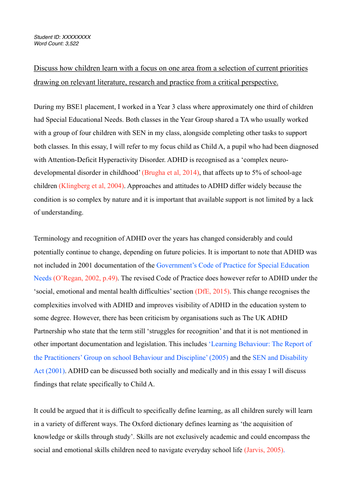 University of Roehampton (Schools Direct/PGCE) - BSE1 Professional Studies Essay GUIDE