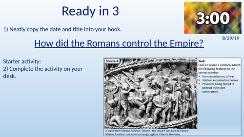Importance of the Roman Army - KS3 Y7