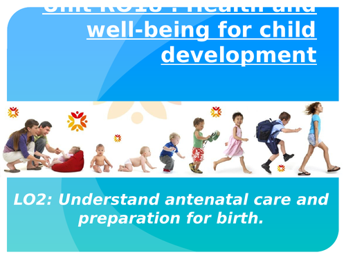 Cambridge National Child Development RO18.2