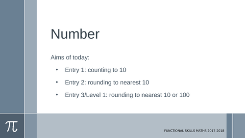 Rounding using money, time and distance: E1-L1