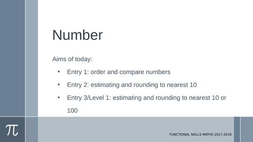 Rounding and estimation: E1-E3/L1