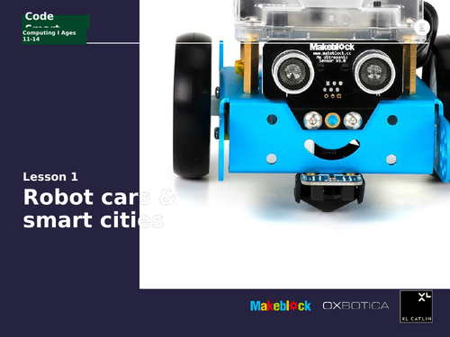 Computing KS3: Robotic cars