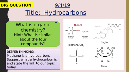 AQA new specification-Hydrocarbons-C9.1