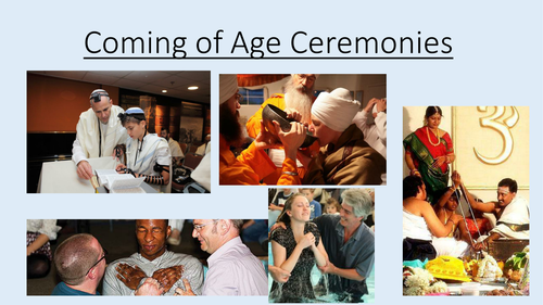 Religion and Young People - Coming of Age Ceremonies - Lesson 3