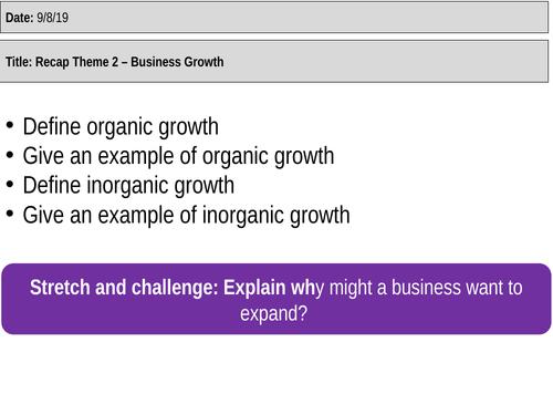 Edexcel GCSE Business (9-1) 2.1