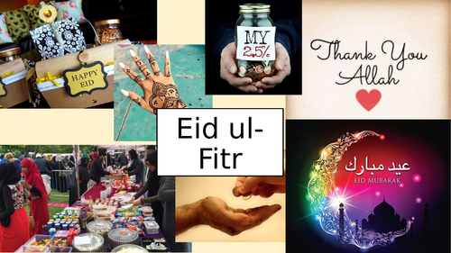 Eid ul-Fitr Party Lesson - Islam - The importance of Eid - Impact in a modern British society