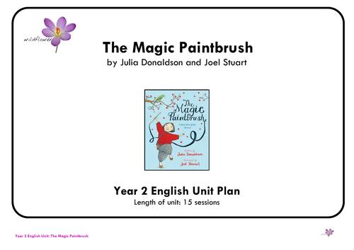 Magic Paintbrush Year 2 English Unit Plan