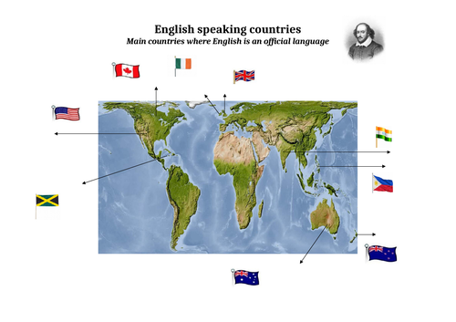 English speaking countries - Map using the Gall-Peters projection on map of white countries, largest english-speaking countries, map of african union member states, map of countries that speak english, map of imperialist countries, map of rich countries, farsi speaking countries, english speaking central american countries, arabic speaking countries, map of the world countries, chinese speaking countries, map of spanish speaking world, flags of french speaking countries, map of u.s. territories, map of temperate regions, map of former soviet union countries, russian speaking countries, map of all the countries, 4 german speaking countries, map of south east asia with countries,
