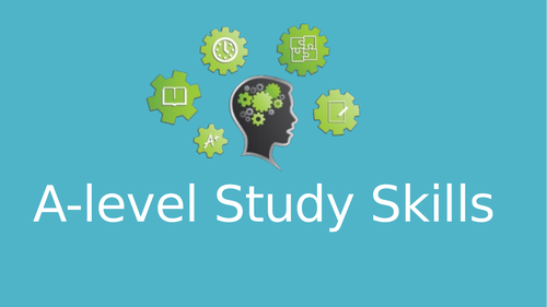 Study Skills SoW and Resources