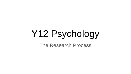CIE (9990) Research Methods