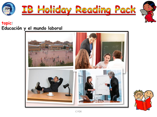 IB ab initio reading pack