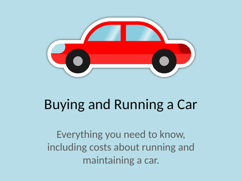 Buying, Running & Maintaining a Car
