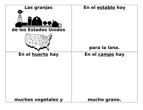 Comparing Farms in U.S. and South America / las granjas