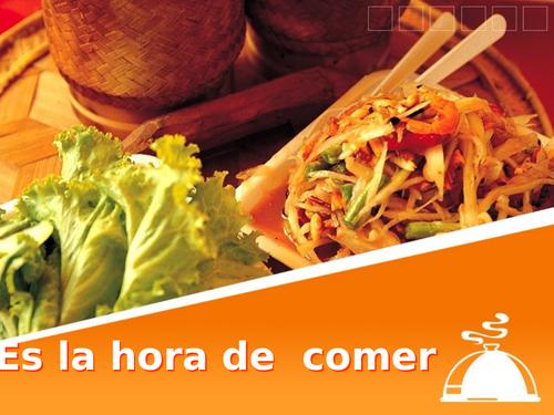 Es la hora de comer - Spanish Year 9 - Food - Spanish food
