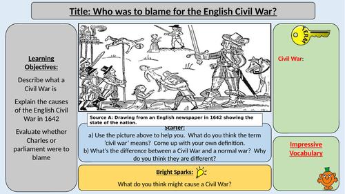 Charles I vs. Parliament - Causes of the English Civil War