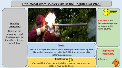 The English Civil War - Soldiers
