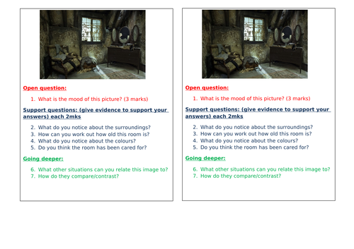 Guided Reading Planning and Resources based on Skellig by David Almond