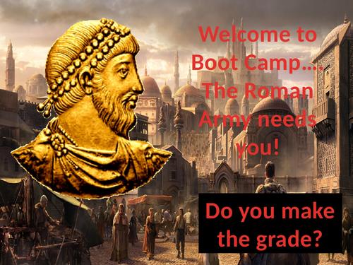 Roman Bootcamp PE/Maths lesson