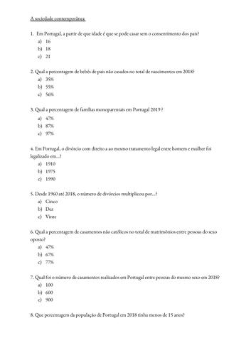 Mudanças nas estrutura familiar - FULL LESSON - Theme 1 Portuguese ALevel