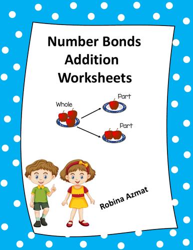 Number Bonds Addition Worksheets