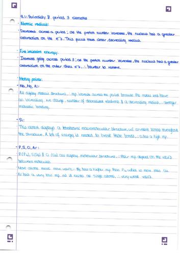 AQA AS Inorganic Chemistry I