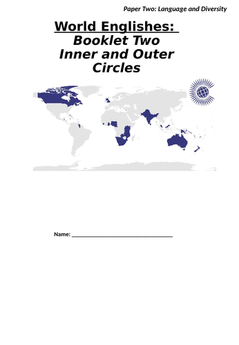 World Englishes: Inner and Outer Circles (A-Level English Language)