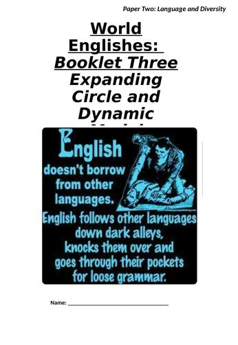 Expanding Circle: World Englishes (A-Level English Language)