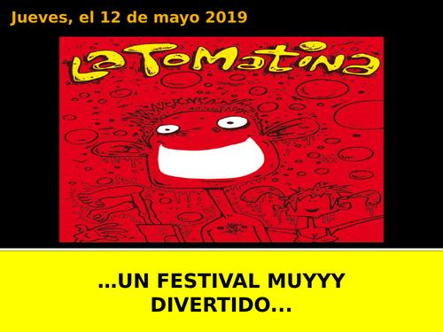 La Tomatina - Spanish Festivals - KS4