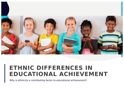 Ethnic differences in education