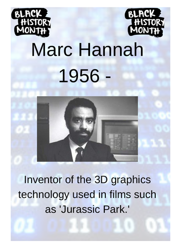 Black History Month - Computing Display