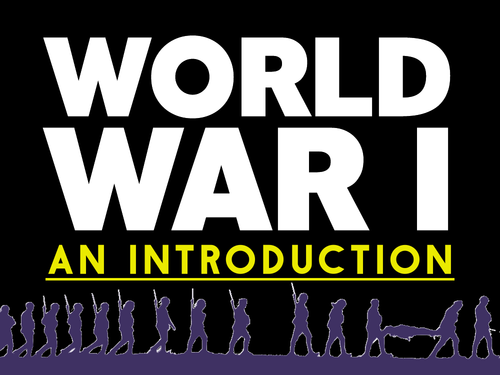 World War 1: An Introduction