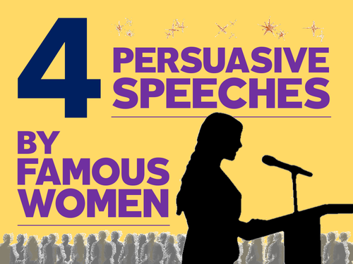 4 Persuasive Speeches: Language & Rhetoric