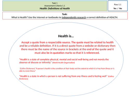 Causes of Disease & Maintaining Health