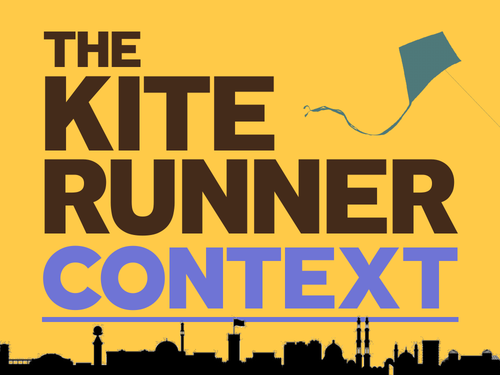 The Kite Runner: Context & Introduction